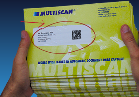 Multiscan Best Barcoded Document Reader